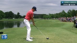 Download Jordan Spieth's slo-mo swing is analyzed at AT&T Byron Nelson Video