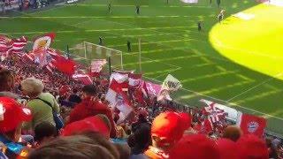 Download FC Bayern München : Borussia Mönchengladbach / Allianz Arena: Vorstellung + Einlauf der Mannschaften Video