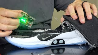 Download What's inside World's First Self Lacing Basketball Shoes? Video