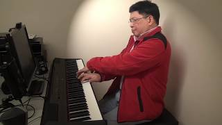 Download Theme from Love Story - piano cover on a Yamaha piano P-115 Video