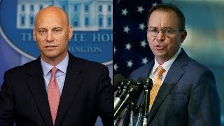 Download WATCH LIVE: Marc Short, Mick Mulvaney hold briefing on potential government shutdown Video