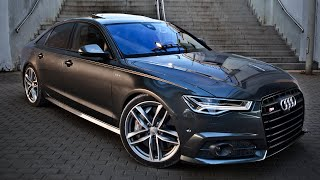 Download 2017 Audi S6 (450hp, V8 4.0TT) - launch, walkaround, interior, exterior Video