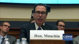 Download Exchange between Rep. Keith Ellison & Treasury Secretary Steve Mnuchin (C-SPAN) Video
