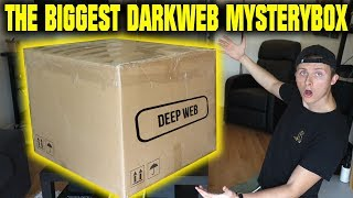 Download THE WORLDS BIGGEST DARK WEB MYSTERY BOX OPENING (WE FIND SOME SCARY STUFF) Video