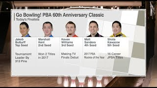 Download 2018 Go Bowling! PBA 60th Anniversary Classic Stepladder Finals Video