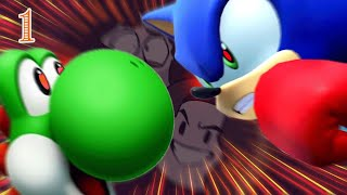 Download Team USA vs... Alligatoria?? - Mario & Sonic at the Olympic Games 1 Video
