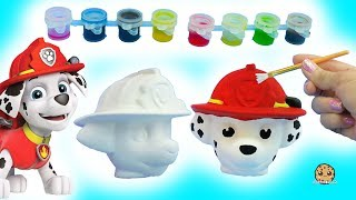 Download Painting A Dog Head - DIY Paw Patrol Marshall Pup + Cute Food Suncatcher - Craft Video Video