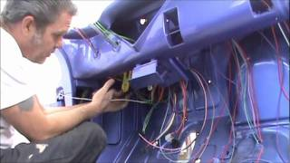 Download 1955 chevy pu daves day 1 ........... begin installing the new wiring system Video