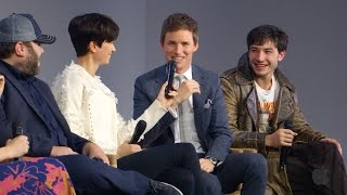 Download Fantastic Beasts and Where to Find Them Cast Interview with Eddie Redmayne, Ezra Miller Video