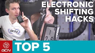 Download 5 Electronic Shifting Hacks For Cyclists | Maintenance Monday Video