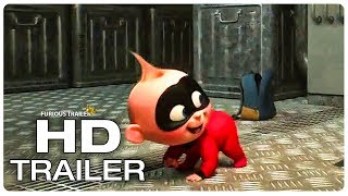 Download INCREDIBLES 2 Dash Vs Jack Jack Trailer (NEW 2018) Superhero Movie HD Video