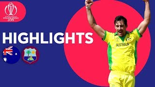 Download Starc Stars With 5-for! | Australia vs West Indies - Match Highlights | ICC Cricket World Cup 2019 Video