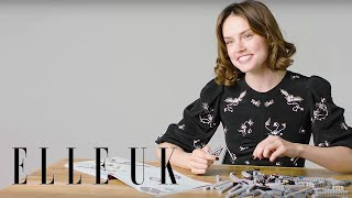 Download Daisy Ridley Builds A Millennium Falcon (While Answering Our Questions) Video