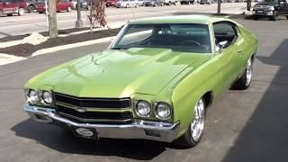 Download 1970 Chevrolet Chevelle $29,500.00 Video