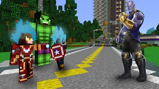 Download VIRAMOS SUPER HERÓIS SAYAJINS E DERROTAMOS O THANOS NO MINECRAFT!! Video