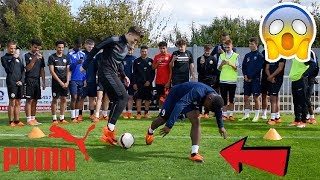Download CAN I NUTMEG FUTURE PRO FOOTBALLERS !? (CRAZY REACTIONS) *PUMA SIGNING* Video