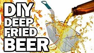 Download DIY DEEP FRIED BEER - Man Vs Fryer Video