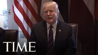 Download President Trump Can't Stop Talking About Immigrant Caravans: What Occurs On The Mexico Border | TIME Video