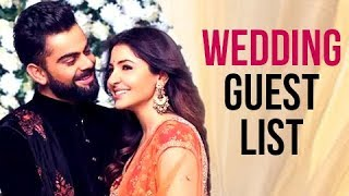 Download Virat Kohli Anushka Sharma Italy Wedding Guest List LEAKED Video