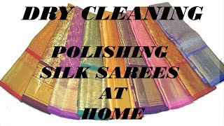Download How to Polish Silk Sarees at Home. Video