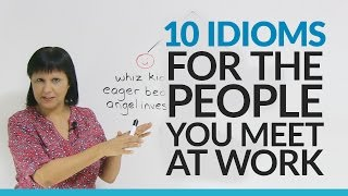Download Learn 10 English Idioms about People at Work Video