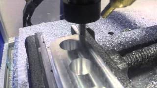 Download Aluminium milling on DIY CNC Video