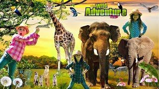 Download Kids and WILD ANIMALS at the Zoo | Animal Adventure Park | Wild Animal Adventure Video