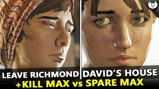 Download ALL ENDINGS - The Walking Dead Season 3 Episode 3 - David's House Vs Leave Richmond + EXECUTE MAX Video