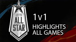 Download All Star 2018 1v1 Highlights ALL GAMES Full Tournament + Winners Interview Video