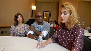 Download Origin: Natalia Tena, Fraser James, & Nora Arnezeder Interview - SDCC 2018 Video