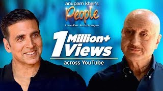 Download Anupam Kher's 'People' With Akshay Kumar | Exclusive Interview Video