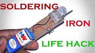 Download how to make soldering iron at home-simple lifehack-home made Diy. Video
