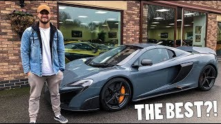 Download MY FIRST DRIVE IN THE BEST MCLAREN?! Video