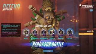 Download Overwatch 1st Competitive Game - Defend Junkrat and Attack McCree - Rank 52 Video