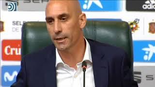 Download Rubiales destituye a Julen Lopetegui tras su fichaje por el Real Madrid Video