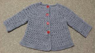 Download Sueter de 9 a 12 meses Crochet parte 1 de 2 Video