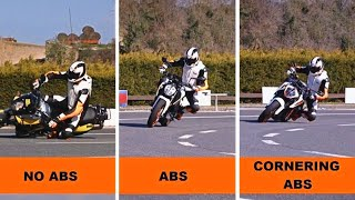 Download KTM - ABS and Cornering ABS Explained | Motorcycle Stability Control Video