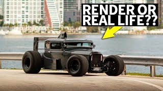 Download A Formula 1 Styled '32 Ford?? Honda S2000 Powered Beck Kustoms F132 Video