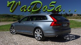 Download Volvo V90 D5 AWD - Que vaidosona! Video