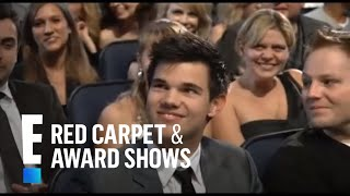 Download PCA 2010: Queen Latifah takes a picture with the stars in the audience Video