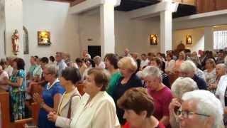 Download Sanktuarium Matki Bożej Nadodrzańskiej Królowej Pokoju w Siekierkach 11.07.2015r Video