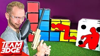 Download GIANT Prop Hunt IRL | Paintball Edition!! Video