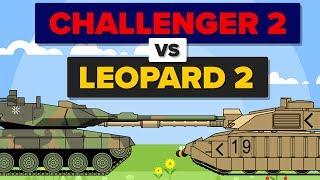 Download British Challenger 2 vs German Leopard 2 - Which Is Better? - Main Battle Tank / Military Comparison Video
