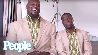 Download Kevin Hart & Shaq Revisit ″Twins″   People Video