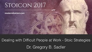 Download Dealing With Difficult People at Work: Stoic Strategies | A Workshop at Stoicon 2017 Video