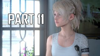 Download Final Fantasy 15 Walkthrough Part 11 - Party of Three (FFXV PS4 Pro Let's Play Commentary) Video