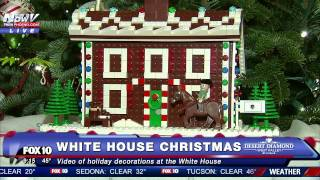 Download FIRST LOOK: 2016 Christmas Decorations INSIDE the White House Video