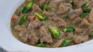 Download Pork Bicol Express Video