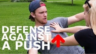 Download How to Defend Someone Pushing or Shoving You Video