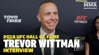 Download Trevor Wittman Explains Why New Analyst Role On UFC Broadcasts Has Been 'Tough' Video